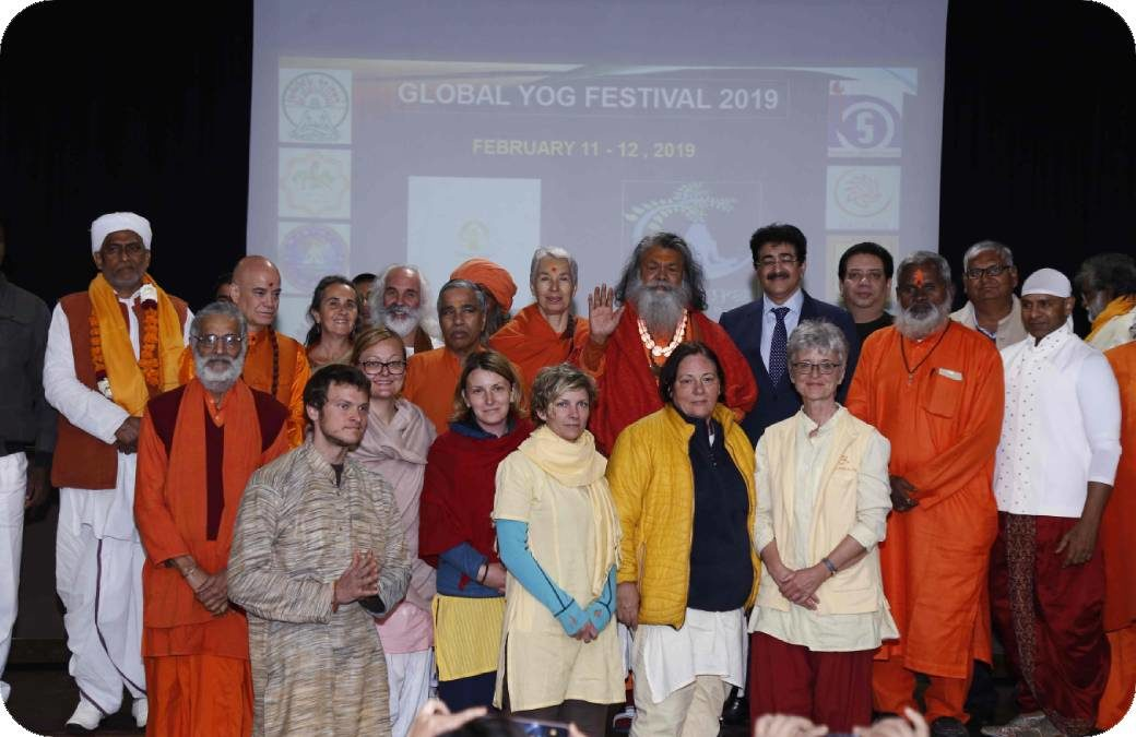 Global Yoga Festival – 11 – 15th February 2019